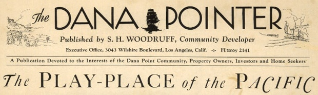 Dana Pointer 1925 masthead logo