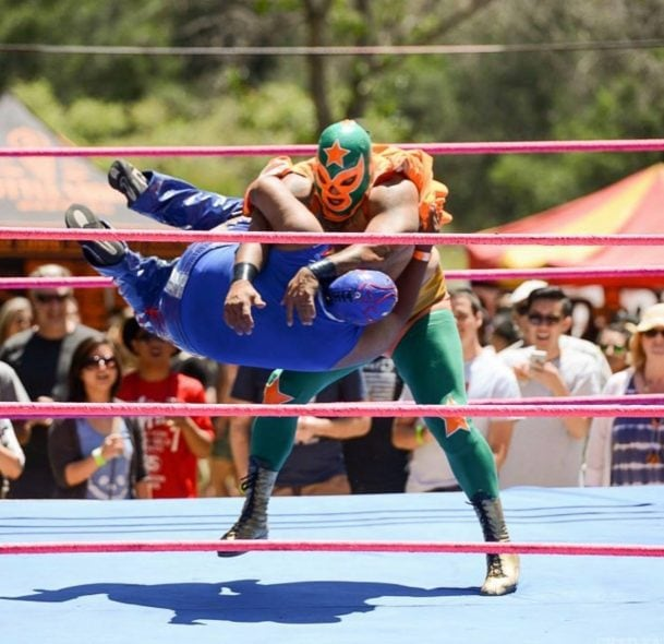 dana point sabroso festival wresting photo