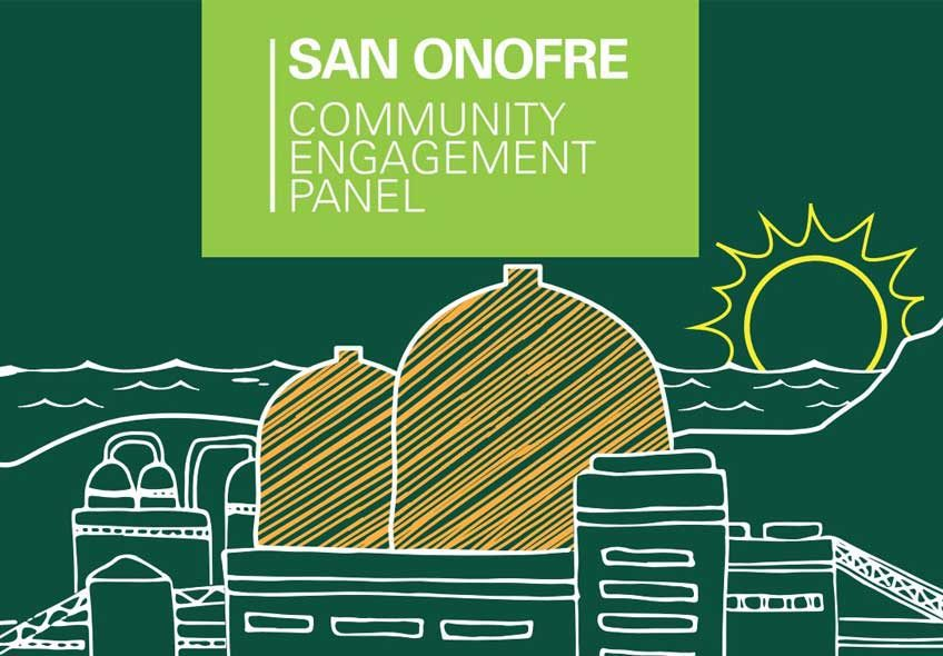 Logo for San Onofre Nuclear Plant Community Engagement Panel CEP