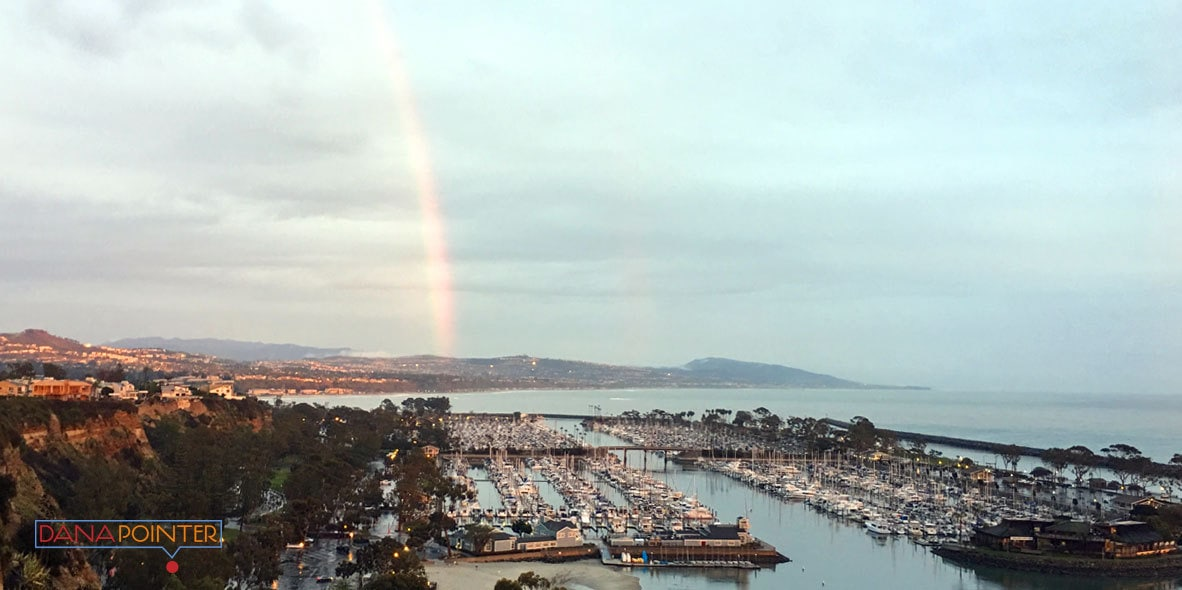 Dana Pointer photo of Dana Point Harbor with Rainbow
