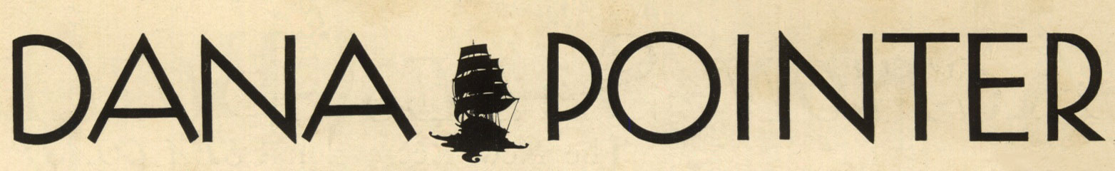 dana pointer logo original 1925 woodruff masthead