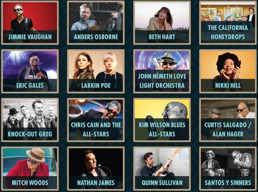 2018 Doheny Blues Festival Lineup photo 02
