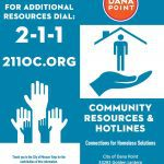 Photo of Dana Point Homeless Task Force Flyer Resources