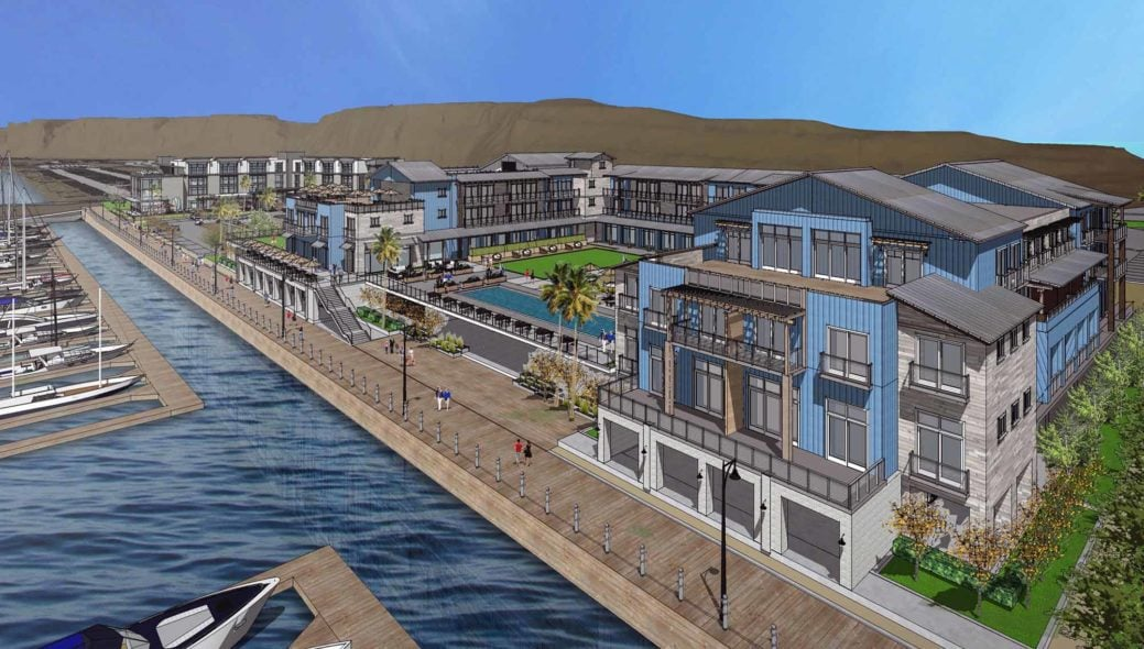 Dana Point Harbor Revitalization Rendering by RD Olson