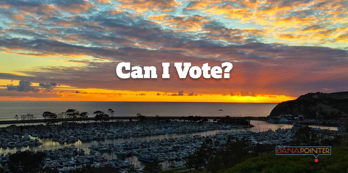 Dana Point Can I Vote photo