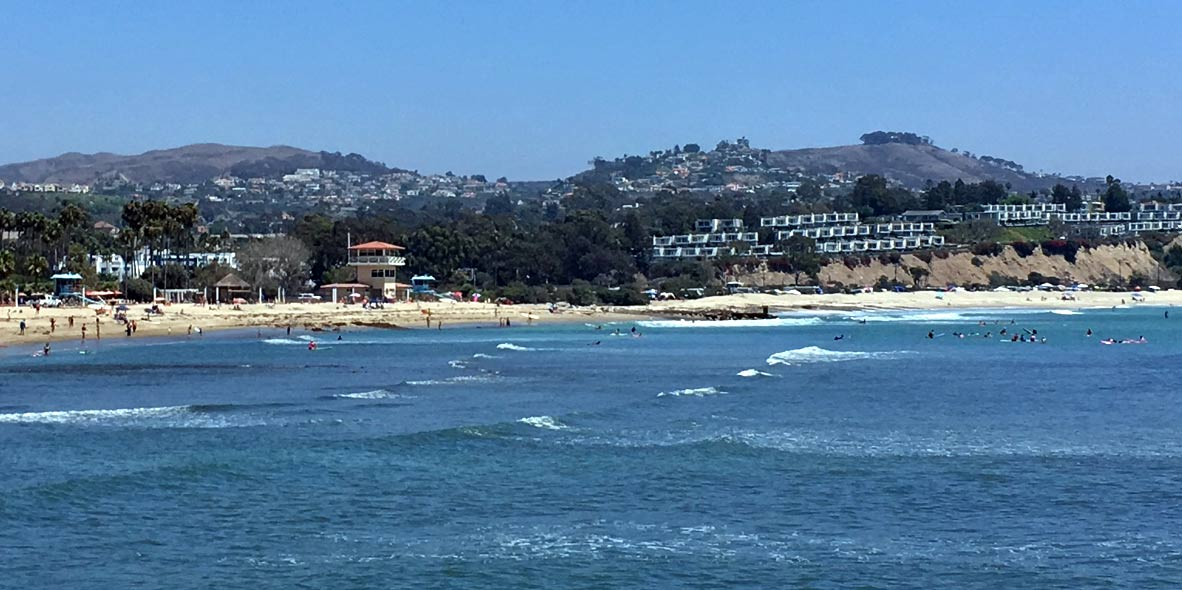 Doheny Surf photo of Doheny State Park beach in Dana Point California
