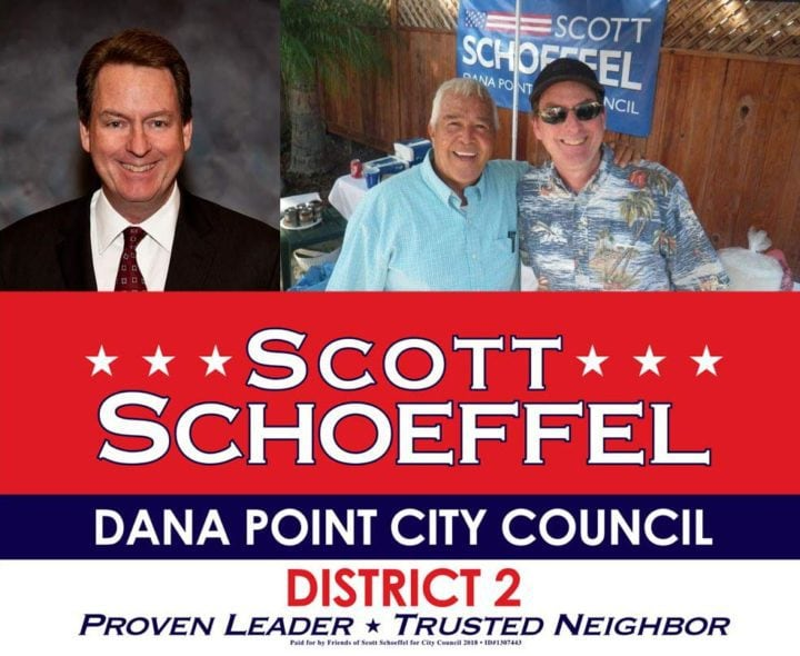 Dana Point Election Candidate Scott Schoeffel District 2 2018